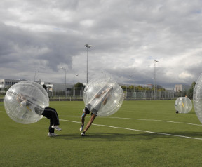 Bubble Soccer Teamevent