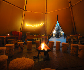 Event- und Outdoor-Tipis